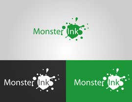 nº 177 pour Logo Design for Monster Ink par clairol
