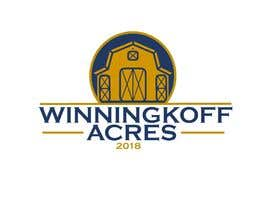 "#126 for Logo Design contest for a small hobby farm. Farm is called ""Winningkoff Acres"" and would like to include established date - 2018 by gagamba"