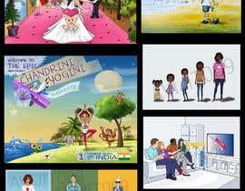 Nro 12 kilpailuun Illustration for kids story book käyttäjältä avijitsil009