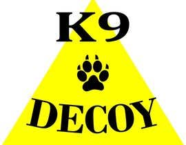 "#5 for I need a design that will be used for a tshirt. The logo should be in rhe center on the front side of the shirt   I need the word ""Decoy""  designed using the equipment used foe Decoying foe woeking k9's by AlleyKatz8"