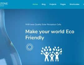 Nro 19 kilpailuun Design a Website Mockup for Solar Protection - Homepage Only käyttäjältä br87