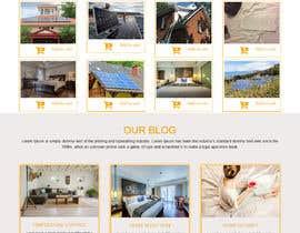 Nro 13 kilpailuun Design a Website Mockup for Solar Protection - Homepage Only käyttäjältä syedsajol