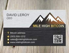 #63 для Design Business Cards for Bitcoin Company від yadavsushil