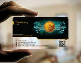 #5 для Design Business Cards for Bitcoin Company від kreativedhir
