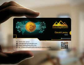#82 для Design Business Cards for Bitcoin Company від kreativedhir