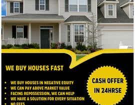 Nro 13 kilpailuun Design a Flyer for Sell my house fast käyttäjältä graphline
