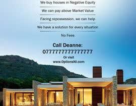 Nro 12 kilpailuun Design a Flyer for Sell my house fast käyttäjältä Rapideye
