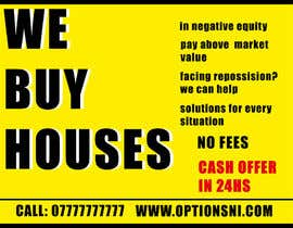 Nro 15 kilpailuun Design a Flyer for Sell my house fast käyttäjältä franfernandz
