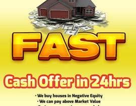 Nro 4 kilpailuun Design a Flyer for Sell my house fast käyttäjältä Naumovski