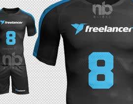 #9 for Design a football/soccer jersey for Freelancer's indoor soccer team af nbclicks