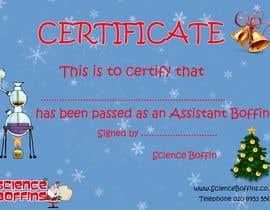 #11 cho Christmas Certificates bởi yoze