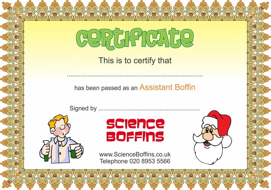 entry 3 by surabi123 for christmas certificates freelancer