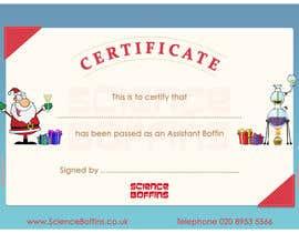 #25 cho Christmas Certificates bởi ahmedmehmood89