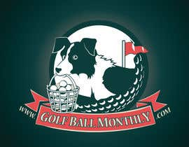 #115 para Logo Design for golfballmonthly.com por OtherWorldMedia