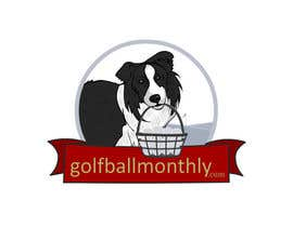 #149 para Logo Design for golfballmonthly.com por soopank20april