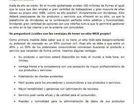 Livirox tarafından Necesito un articulo para proponer un servicio için no 23