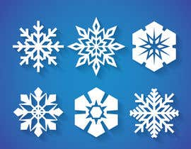 #7 for Design 3 snowflakes by mehfuz780
