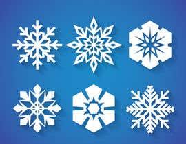 #7 für Design 3 snowflakes von mehfuz780