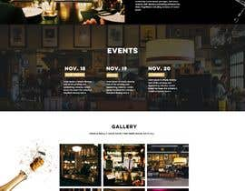 #53 for Create a website design for a whiskey bar by chiku789