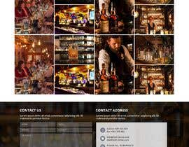 #49 for Create a website design for a whiskey bar by WebCraft111