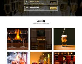 #20 for Create a website design for a whiskey bar by shakilaiub10