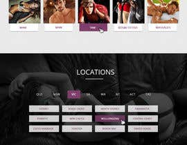 #23 for Design a Website home page for a dating / escorts website by Isha3010