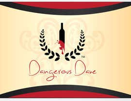 nº 10 pour Wine Label for Dangerous Dave par rayansmith007