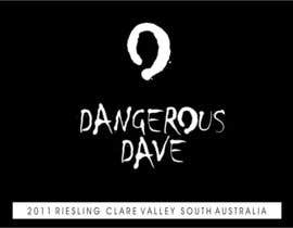 nº 8 pour Wine Label for Dangerous Dave par digimarck