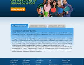 #59 para Website Design for AIM Overseas por tania06