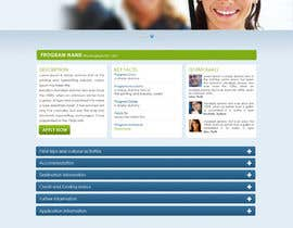 #43 para Website Design for AIM Overseas por tania06