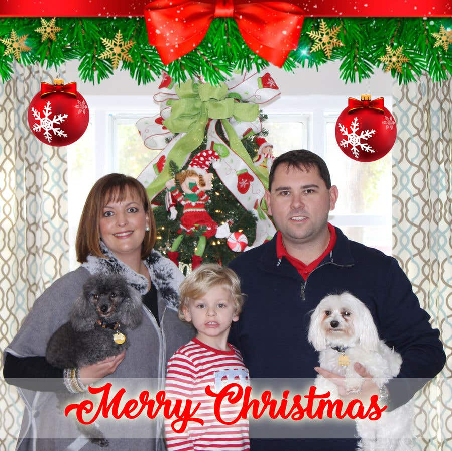 Contest Entry #4 for Create Square Christmas Design for FB profile pic.