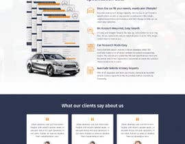 #30 for Design a Website Mockup for a Car Website by pixelwebplanet