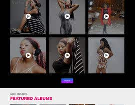 #15 for design a website for a musical artist by maxmediapixels