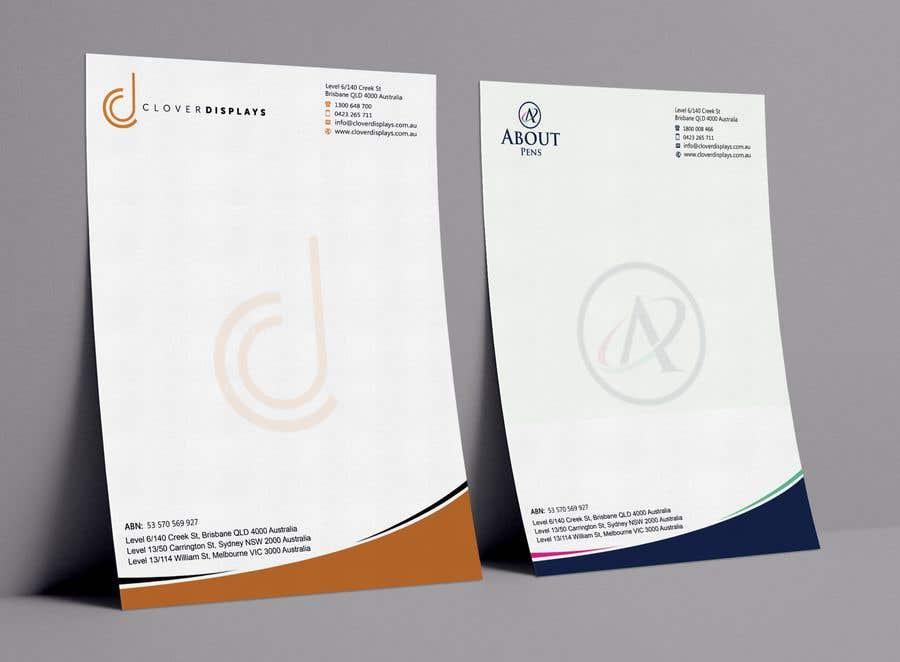Entry #77 by debopriyo88 for Design Business Card + Letterhead for 2 ...