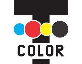 """#185 for design logo for printing company """"T COLOR"""" af venky9291"""