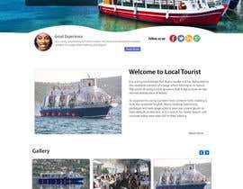 #7 untuk Design a Website Mockup for local boat tourist tours oleh kethketh