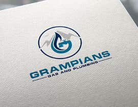 #54 for Plumbing Logo designed like the example ill upload with the mountains in background and a flame/drop symbol but am open to other ideas. Business name Grampians Gas and Plumbing. af Muktishah