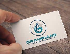 #58 for Plumbing Logo designed like the example ill upload with the mountains in background and a flame/drop symbol but am open to other ideas. Business name Grampians Gas and Plumbing. af Muktishah