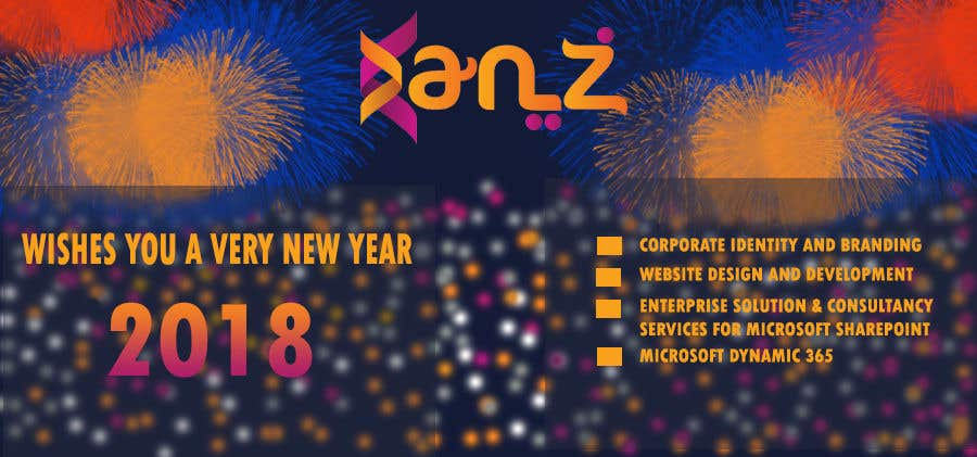 contest entry 20 for design new year banner illutrating services