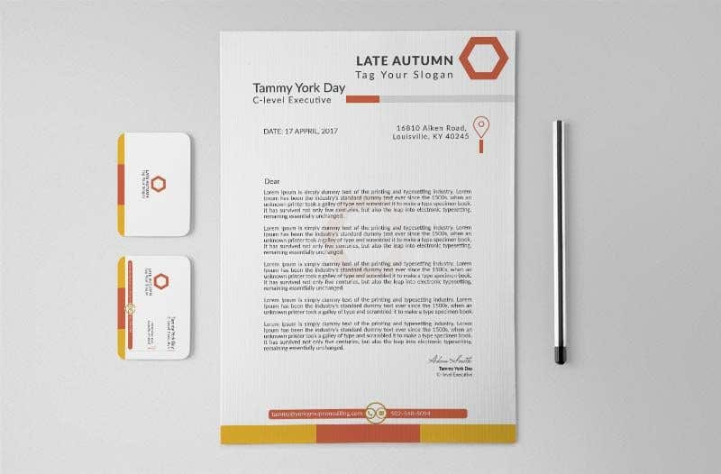 entry 124 by omorfaruk1124 for design some personal stationery