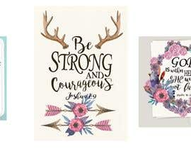 nº 78 pour Recreate these 3 design quotes par marijakalina