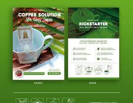 Nro 35 kilpailuun Flyer Design A6 for Kickstarter Campaign käyttäjältä ahmedabdelrahim1