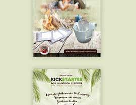 Nro 47 kilpailuun Flyer Design A6 for Kickstarter Campaign käyttäjältä ahmedabdelrahim1