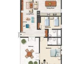 #74 untuk Design my countryside apartment oleh eliasghasemian