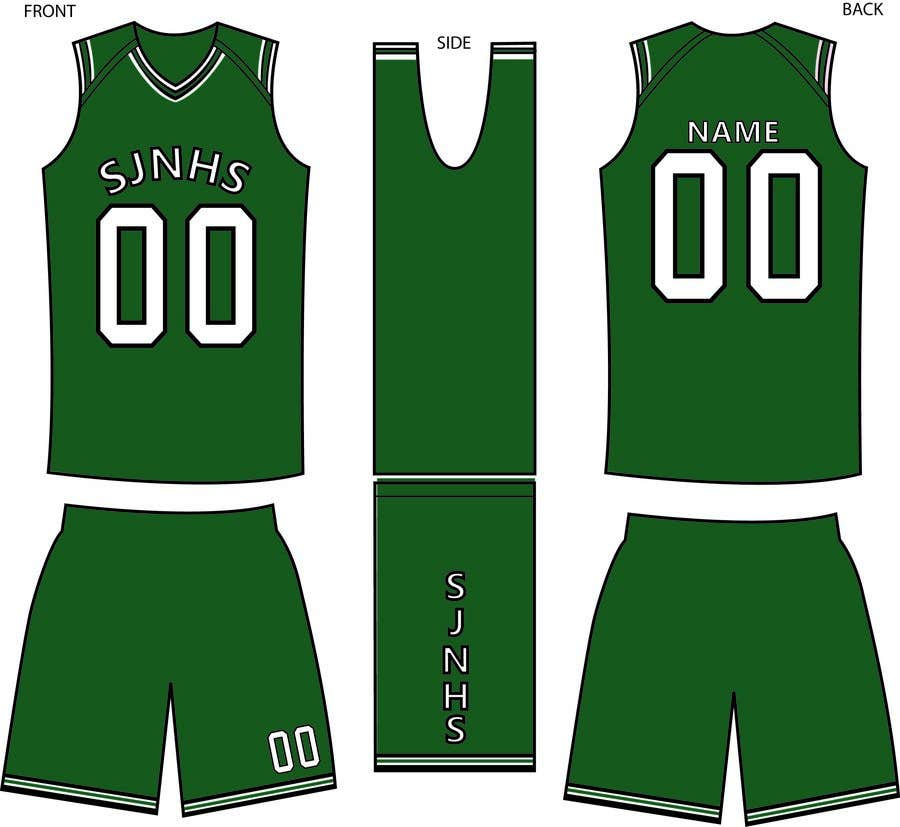 c1312732c5e Entry  16 by Missaboo for DESIGN FOR OUR BASKETBALL UNIFORM