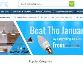 #43 for Email Banner needed for Lighting Retailer by youshohag799