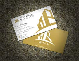 #75 para Business Card Design for Caliber - The Wealth Development Company por XLNCInc