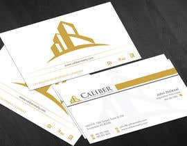 nº 16 pour Business Card Design for Caliber - The Wealth Development Company par jobee