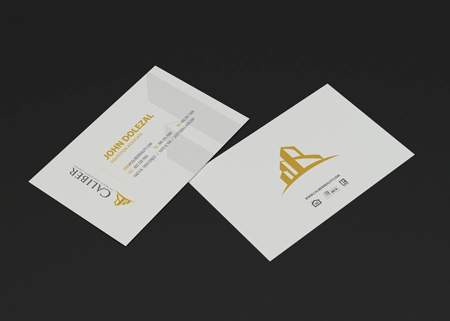 Contest Entry #96 for Business Card Design for Caliber - The Wealth Development Company
