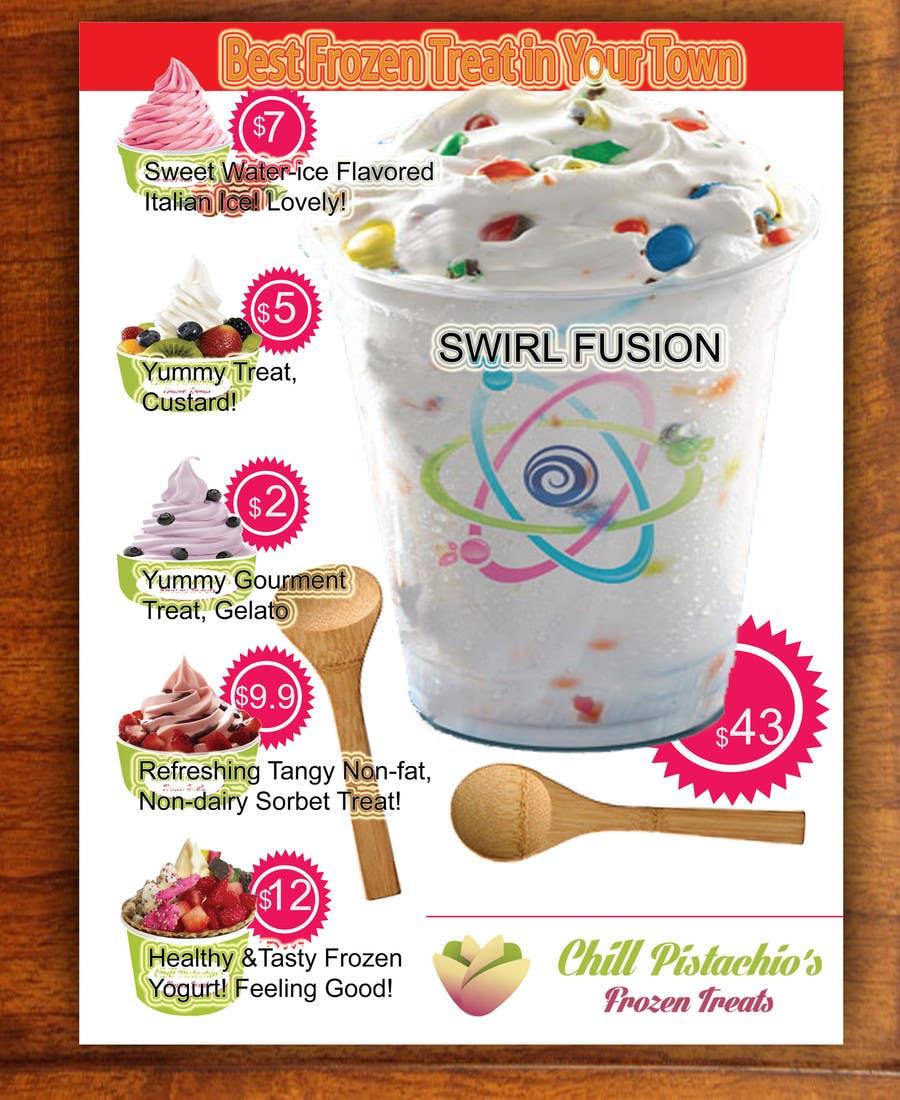 Banner Frozen Food Design - desain banner kekinian